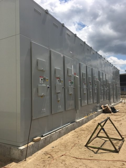 Canadian Forces Base Borden - Electrical Boxes