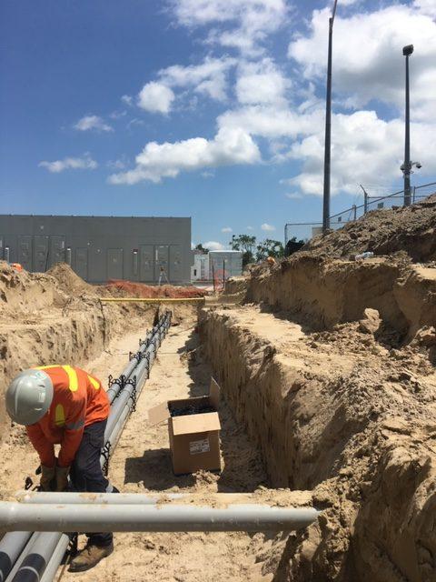 Canadian Forces Base Borden - Underground Electrical Work
