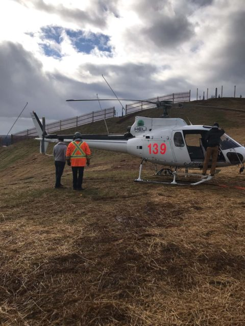 Mt St. Louis - Helicopter/Electrical Servicing